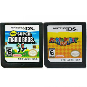 New Super Mario Bros + Mario Party DS Game Card for Nintendo DSI DS XL 3DS NDSL