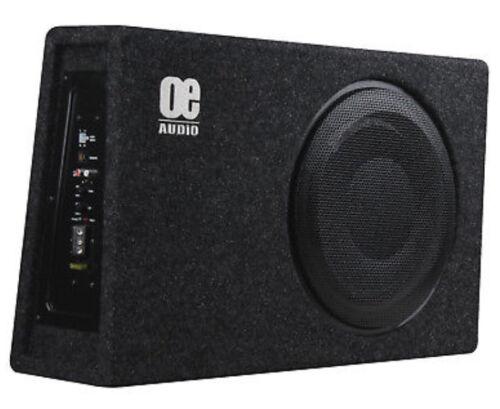 """OE Audio 12/"""" Sub Woofer Construido en Amplificador Amplificado Activo Slim superficial Bassbox"""