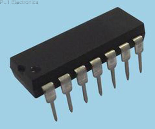 Microchip-pic16f1825-i // P-IC 14.000 Flash ATMEGA 8 bit 14pdip