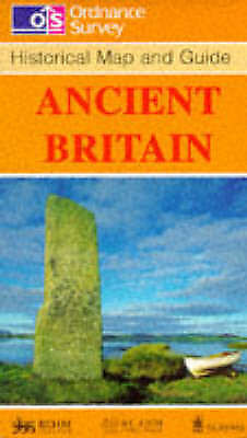 Ancient Britain (Historical Map and Guide), Ordnance Survey, Good Book