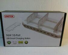 Unitek Y-2172 [PowerPort 96W/2.4A Max] 10-Port USB Charging Station  *Free Ship!