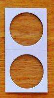 35 Dollar Coin Flips 2x2 Holders - Sampler Of 35 Dollar Cardboard Flips -