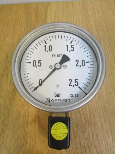 DIA  Manometer 0-2,5 bar KOST-EX  S14//197 Tecsis Druckmessgerät Type NG