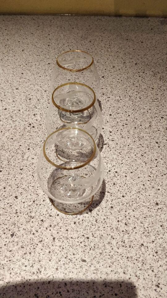 Glas, Portvins glas cognac glas likør glas Mågestellet,