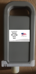 4000 4000s,6000s 6000 Compatible Cartridge Canon PFI-1700PGY ipf PRO-2000