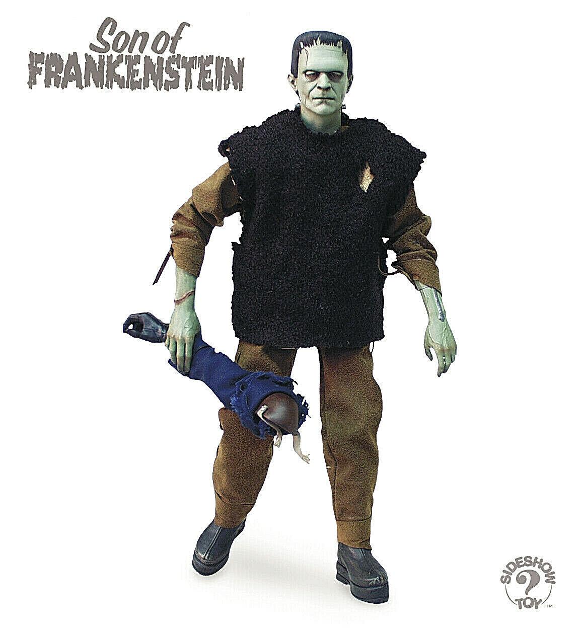 Son Of Frankenstein FRANKENSTEIN muñeco 30cm escala 1 6 Sideshow