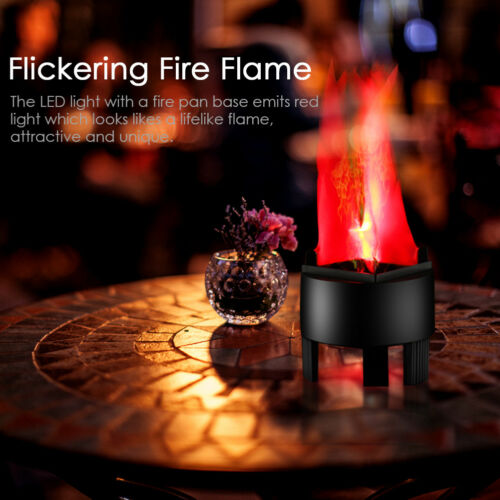 20cm LED Electronic LED Fire Flame Simulated Flame Effect Light for Party Club