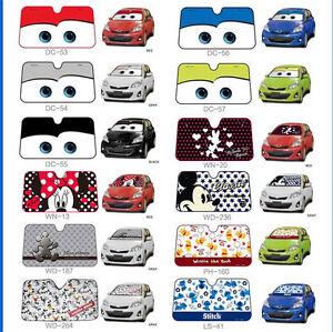 Hot Cartoon Pixar Cars Cute Front Car Windshield Sun Shade Sunvisor ... 9158c95417c