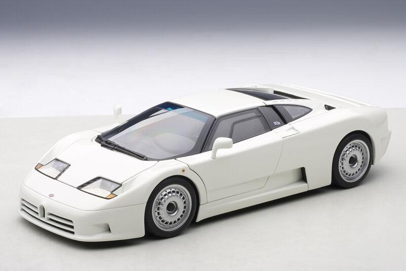 Bugatti EB110 GT White AUTOart 1:18 AA 70978