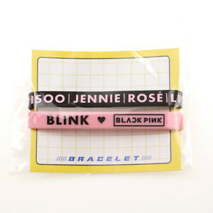 1-Pair-KPOP-BLACKPINK-Bracelets-Sport-Silicone-Friendship-Wristband-Bangles