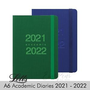 Letts Mid Year Academic Diary A6 Week To View Diary 2021 2022 Memo