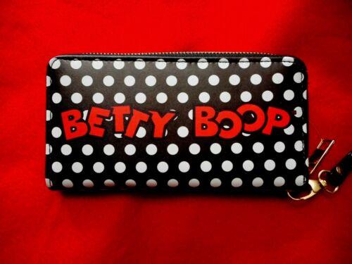 with Bonus Item NEW Betty Boop Polka Dot Wristlet//Wallet