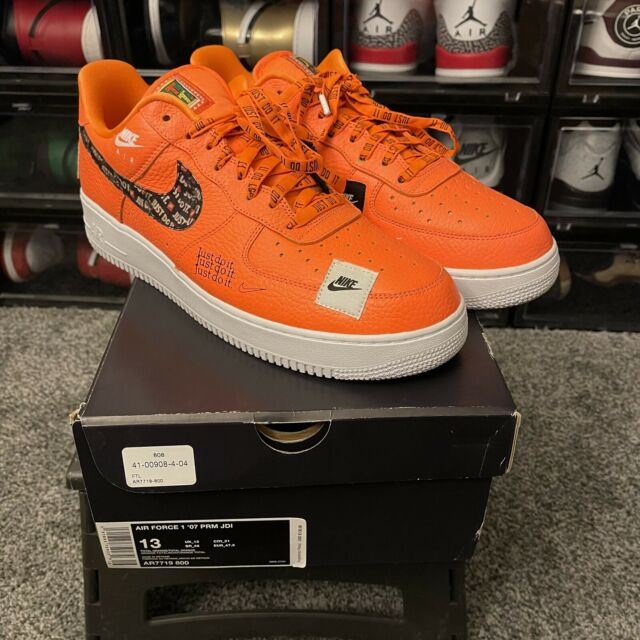 Size 13 - Nike Air Force 1 Low Just Do It 2018 for sale online | eBay