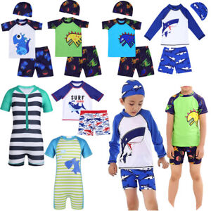 78f1a44197 Image is loading Kid-Baby-Boy-Swimwear-Sun-Protective-Swimsuit-Rah-