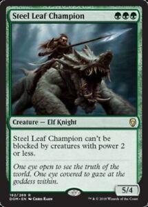 Steel-Leaf-Champion-x1-Magic-the-Gathering-1x-Dominaria-mtg-card