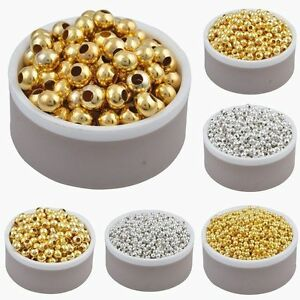 Wholesale-Silver-Gold-Plated-Round-Spacer-Beads-Jewelry-Findings-2-5-3-4-5-6mm