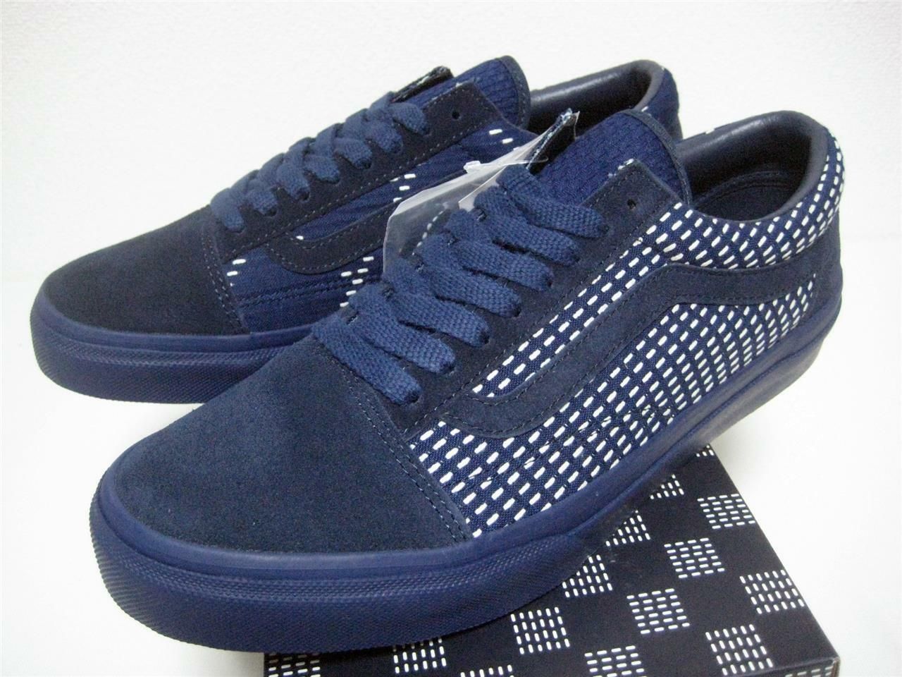 VANS FDMTL OLD SKOOL navy V36CL FUNDAMENTAL from Japan US9 brand new