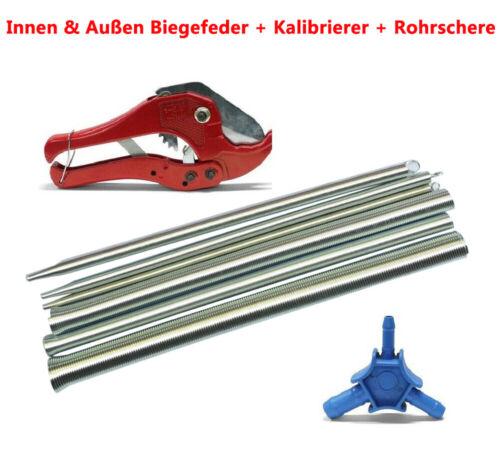 Kalibrierer 55048 Satz PEX Innen /& Außen Biegefeder Rohrschere Verbundrohr