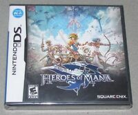 Heroes Of Mana For Nintendo Ds Brand Factory Sealed