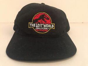 Image is loading Vintage-Jurassic-Park-The-Lost-World-Snapback-Hat- d7ea7bbdd1b