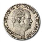 German States Prussia Friedrich Wilhelm IV Ausbeute Thaler 1858 A KM-472 Extra F