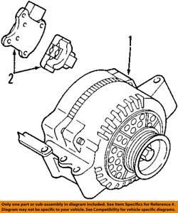ford f150 4 2l engine diagram ford oem 07 08 f 150 4 2l v6 alternator 7l3z10346barm ebay  ford oem 07 08 f 150 4 2l v6 alternator