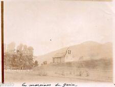 A696 Photographie Originale 1900 Pyrénées Luchon Moraine Garin vintage ancien