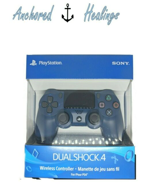 SEALED BOX NEW PlayStation 4 PS4 Dualshock Wireless Controller - Midnight Blue