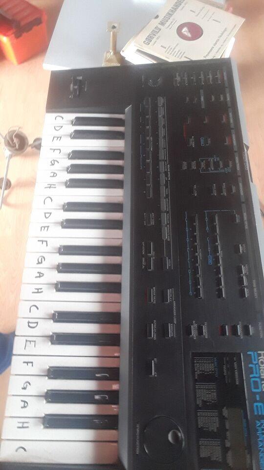 Keyboard, Roland Pro e