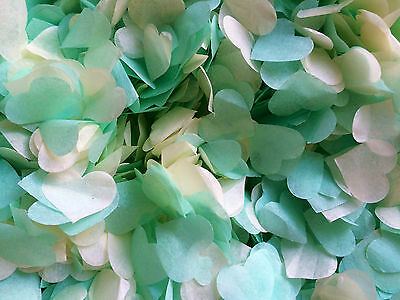 Confetti Balloons Mint Green Ivory Clear Helium Balloons Vintage Wedding Party