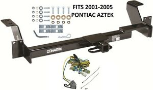 s l300 trailer hitch w wiring kit fits 2001 2005 pontiac aztek class ii