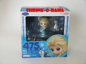 NEW-Good-Smile-Nendoroid-475-Disney-Frozen-Elsa-w-Olaf-Action-Figure