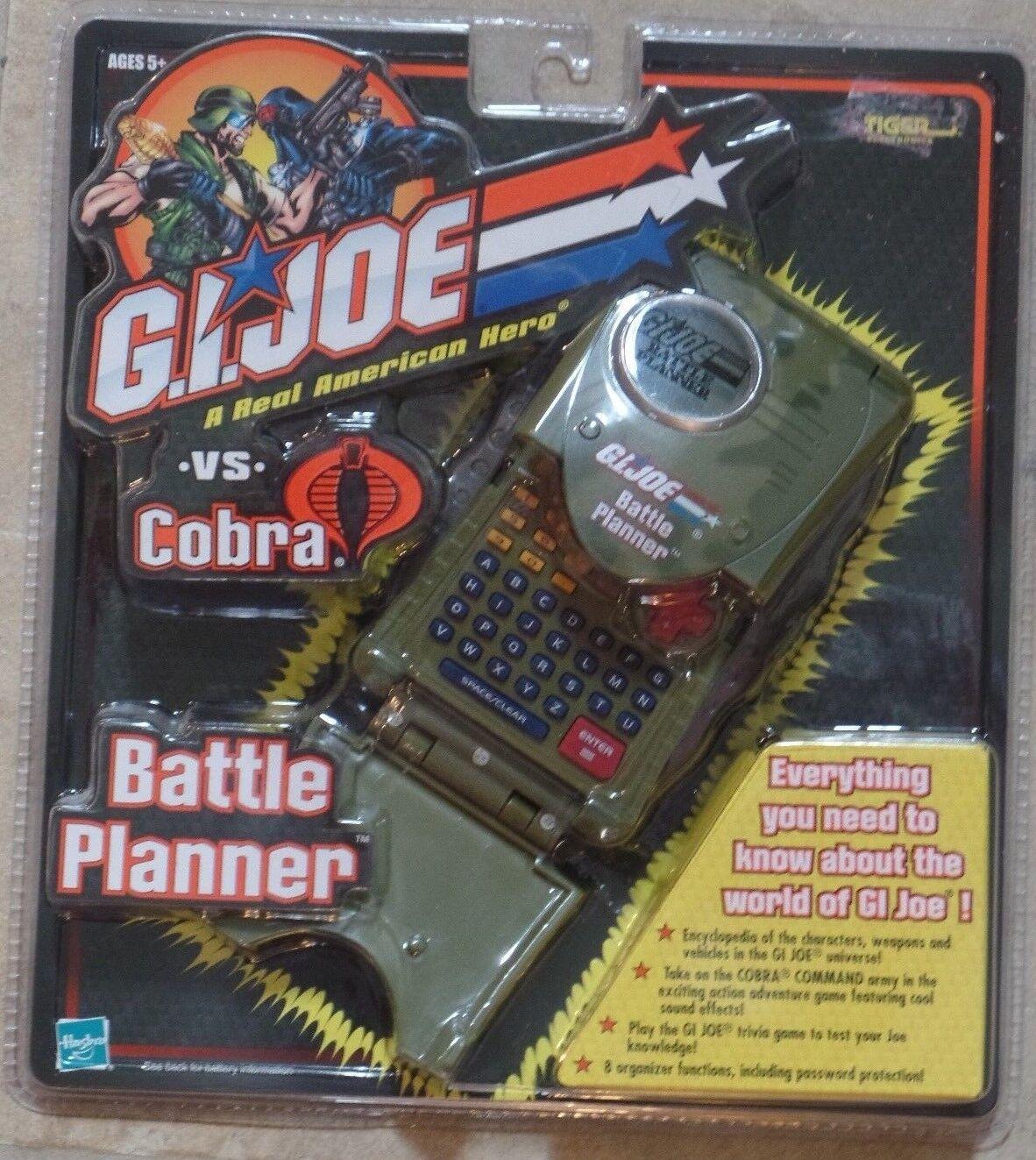 Gi Joe Vs Cobra Planificador De Batalla Tiger Electronics Nuevo Sellado Hasbro 2002