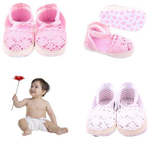 Bowknot Prewalker Soft Sole First Walker Princess Toddler Baby Girls Shoes