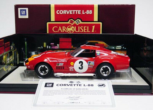 1 18 carousel 1 Corvette l-88 1968 Lemans Umberto Maglioli-rar neuovp §