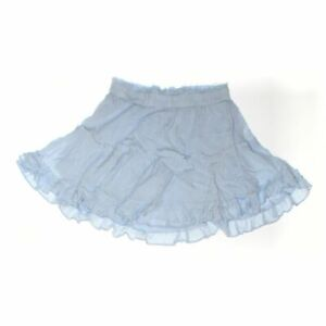 Showpo Women's Skirt size 4,  light blue,  rayon,  new with tags
