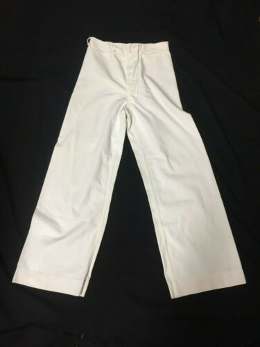 Vintage 1940s WWII US Navy Nautical White Sailor P
