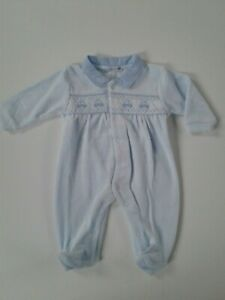 Baby girls clothes spanish style velour baby grow 0-9 months