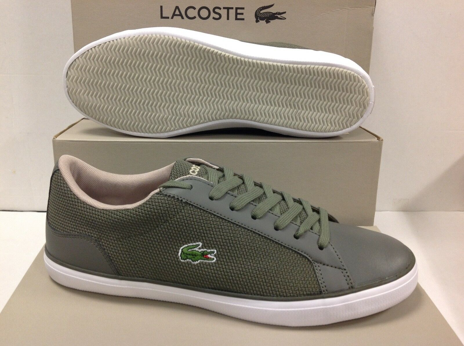 Lacoste LEROND 117 Men's Sneakers Trainers, Size 7.5 UK 7.5 Size / EU 41 / USA 8.5 eabba7