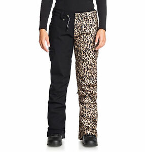 2021 Dc Viva Mujer Nieve Esqui Pantalones Leopardo Fade Nuevo Pequeno Ebay