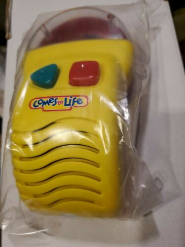 COMES TO LIFE MICROPHONOGRAPH BOOK READER PLAYER NEW 1993 YES RARE VINTAGE