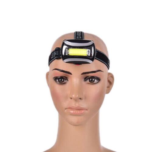 Super Bright LED Headlamp T6+COB LED Headlight Head Lamp Flashlight HsYYB