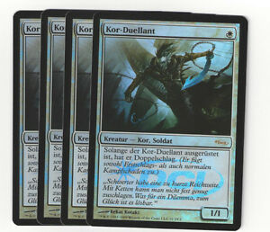 TCG-102-MtG-Magic-the-Gathering-Kor-Duellant-Gateway-Promo-Foil-Playset-4