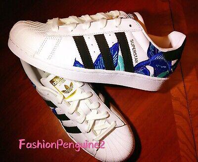 adidas superstar flower embroidery damen schuhe