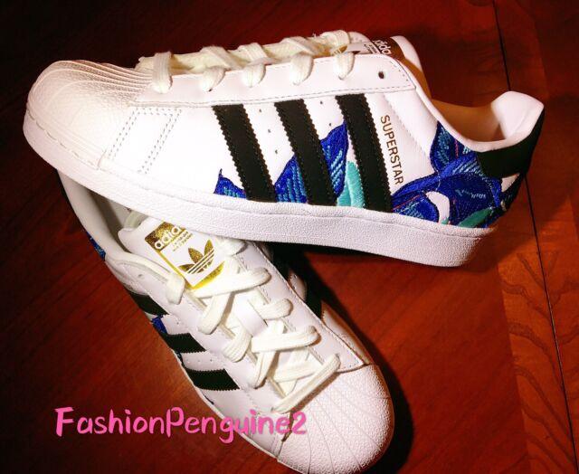 adidas Originals Floral Superstar 80s Sneakers | HYPEBAE