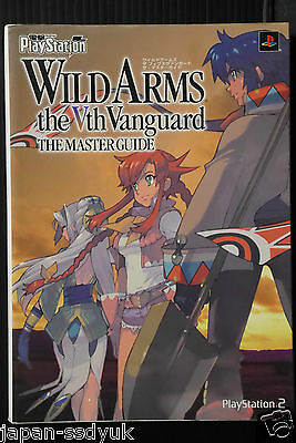 Japan wild arms 5 the vth vanguard master guide book | ebay.