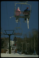 206022 Chairlift A4 Photo Print