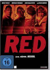 DVD * R.E.D. - ÄLTER. HÄRTER. BESSER. | BRUCE WILLIS, MORGAN FREEMAN # NEU OVP $