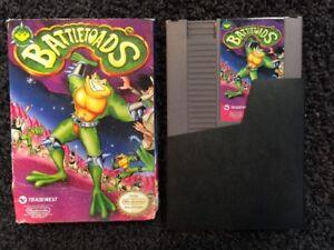 Battletoads (Nintendo Entertainment System, 1991) NES Complete CIB NO MANUAL  31719199112