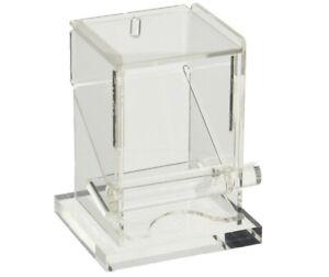 Acrylic Commercial Toothpick Dispenser Toohpick Dispenser For Restaurant Use Ebay
